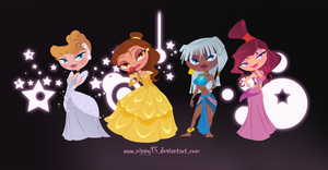 Disney Princesses Chibi Part2 by Nippy13