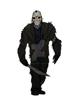 Friday the 13th color by MrGreenlight