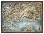Skullkickers World Map by MikeSchley