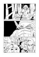 Zelda comic P1 inks by Darkstampede