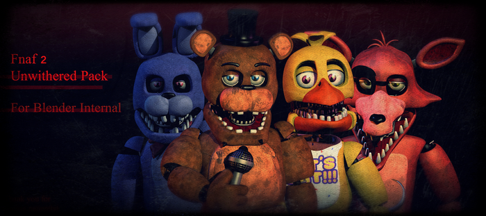 Fnaf2|Uwnithered PACK [FIXED FREDDY DOWNLOAD] by CoolioArt