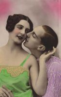 Vintage flapper couple IV by MementoMori-stock