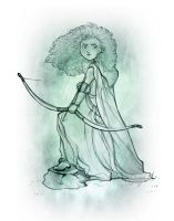 +Commission+ Merida sketch by 77Shaya77