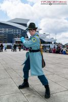25th May MCM LON Team Fortress 2 BLU Medic by TPJerematic
