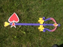 Lady Luck Keyblade by oOBubbley