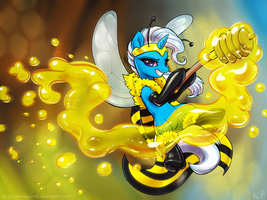 Trixie the Bee by KP-ShadowSquirrel