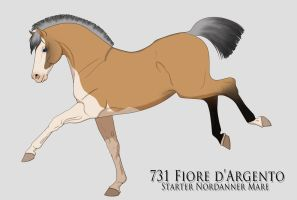 731 TR Fiore d'Argento - Excellent Blood by LiddleCherry