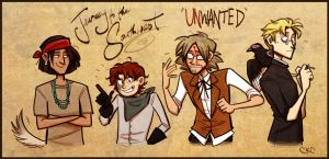 UNWANTED :: Our Heroes by Inonibird