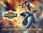 Flamedramon by ICJTBLUE