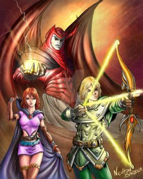 Dungeons and Dragons by newtonb
