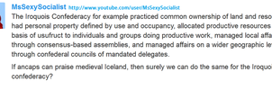 Awesome Comment by MsSexySocialist by Valendale