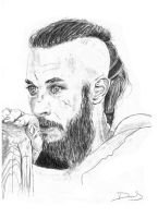 Ragnar Lothbrok by SelenUnderworld
