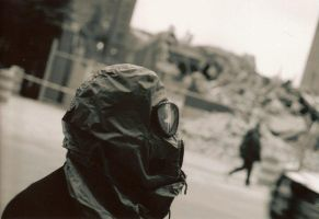 Gas Mask Looker by gollum42