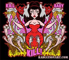 Kill Baby Kill by RossRadiation