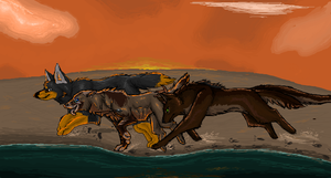 iScribble Collab #4 by Silvadruid