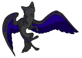 Mystic Wolf Adoptable  still available -open- by LCWAdopts