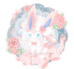 Comission - Sylveon by Ayasal