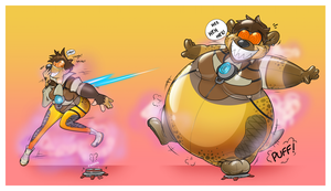 Tracer Inflata-Hyena by Redflare500