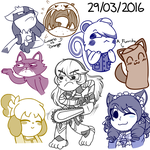 Stream Doodles! 03/29/2016 by DaDigitalMastah
