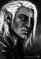 Elves of the Dragon Age - Fenris by yuhime