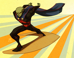martian surfhunter by samuraiblack