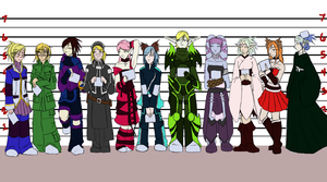 WIP Line Up3 by bell-chann