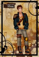 Steampunk Jim Hawkins by HelleeTitch