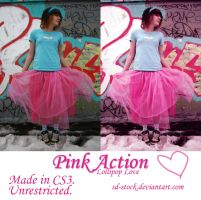Pink Action by sd-stock