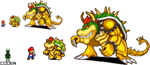 Giga Bowser by code14