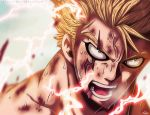 Fairy Tail 473 - The Crimson Lightning by Nyster7