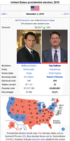 West Wing: 2010 Presidential Election by YNot1989
