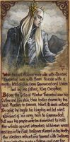 Thranduil - He Would Suffer No More Loss by BohemianWeasel