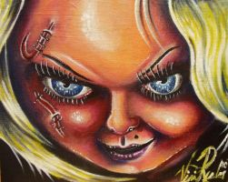 bride of chucky by vinnierealm