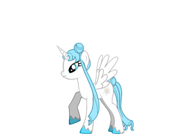 Queen of Snow (General Zoi's Pony Creator) by Derpy00