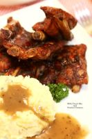 Ribs and Potatoes by Foodtrip