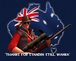 TF2 Sniper Thanks by The-Loiterer