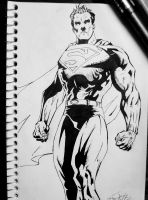 Superman II Inked by dareith