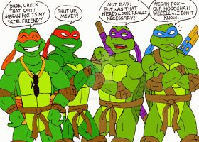 TMNT: the Turtles reaction to the TMNT 2014 movie by xero87