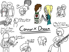 Connor x Dream by TheGreatWarrior