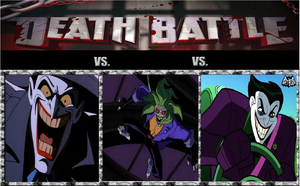 Death Battle: Animated Series Jokers battle royale by kart42