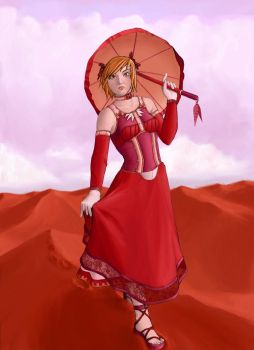 The Desert Rose by Red-Fallout