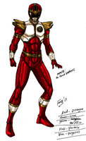 MMPR: Red Thunder Ranger by kyomusha