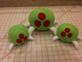 Metroid Plush by 64bitcrafts