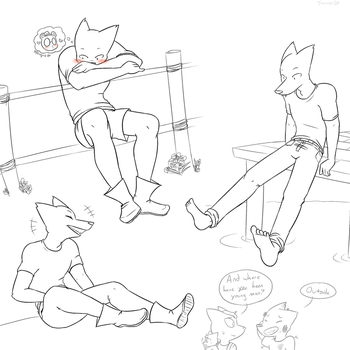 Gregg Doodles by thesuckerpunched
