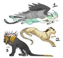 Aetheri Cats.4 - Sold by Onyxwings