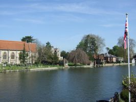 the river Thames at Marlow by Sceptre63