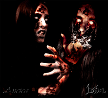 Ancica and Lustbel Zombies by Lustbel