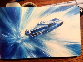 Star Wars Daily Sketch 19 by danomano65