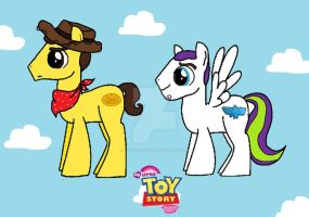 MLP Toy Story by kaoshoneybun