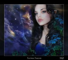 Luthien Tinuviel by EmberRoseArt